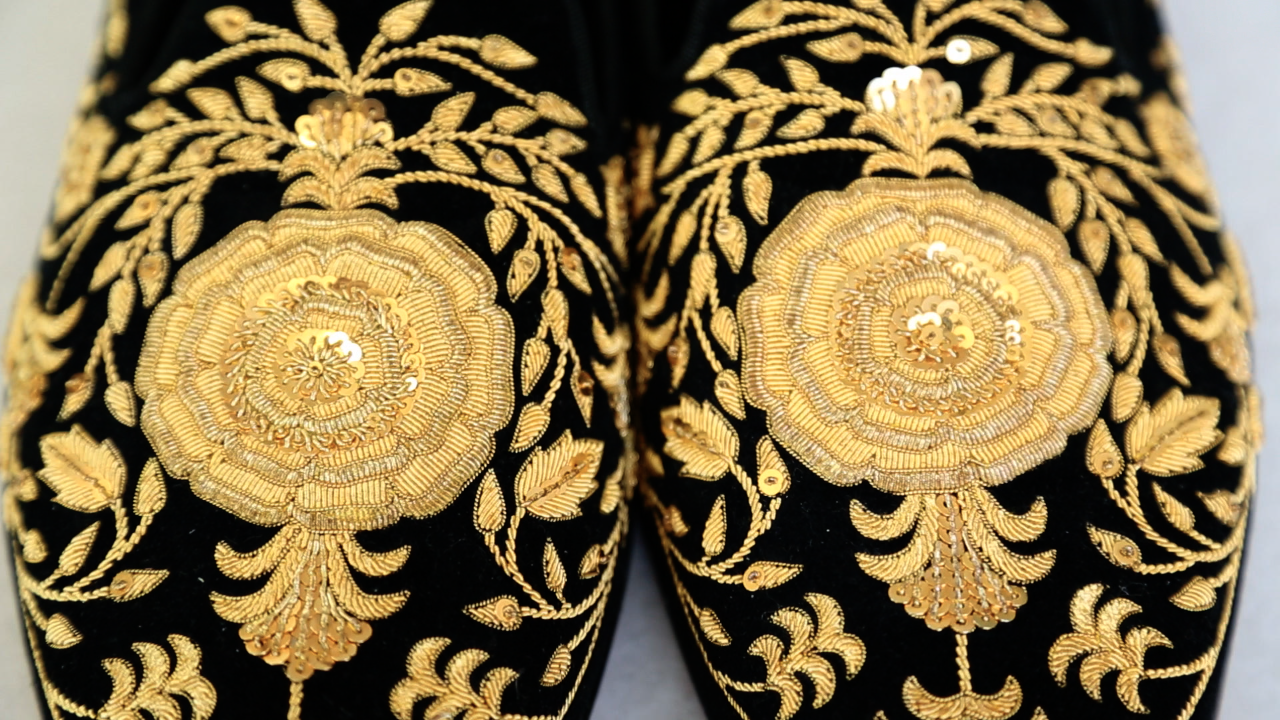 Goldwork embroidery: couture embellishment with Hand & Lock_03